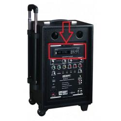 LECTEUR CD/USB POUR ENCEINTE BE-9412 POWER CAISSE BOIS
