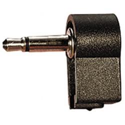 JACK MALE 3.5mm MONO PLASTIQUE COUDE (6080)