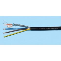 BOBINE 100 METRES CABLE HYBRIDE DMX 2C+M + SECTEUR 3G1.5 (DIAMETRE 10 mm)