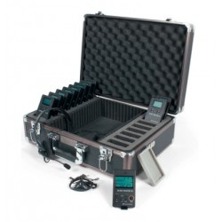 KIT MICRO HF VISITE GUIDEE 10 PERSONNES WILLIAMS SOUND