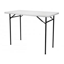 TABLE HAUTE PLIANTE - RECTANGULAIRE - 152 x 76 x 110 cm