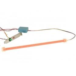 BARRE 12 LED + ALIMENTATION 12VCC - LUMIERE ROUGE