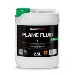 BIDON DE 2.5L DE LIQUIDE VERT POUR MACHINE A FLAMMES FLAMANIAC MAGIC FX