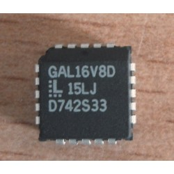 CI GAL 16V8 D-15LJ BOITIER PLCC-20
