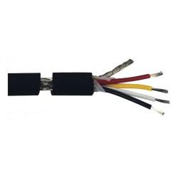 BOBINE 50 METRES CABLE DMX 0.34mm² 110 OHMS 4C+M 6.50mm TESCA