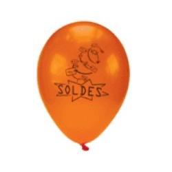 "10 BALLONS ""SOLDES"""