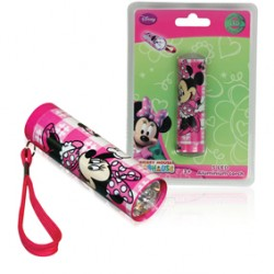 TORCHE 5 LED ALUMINIUM MINNIE