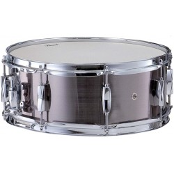 """CAISSE CLAIRE PEARL 14 X 5.5 """" SMOKEY CHROME"""