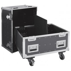 FLIGHT CASE POUR 2 X CTA208 HK AUDIO