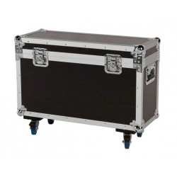 FLIGHT CASE SUR ROULETTES POUR DEUX LYRES SPOT200LED AFX LIGHT