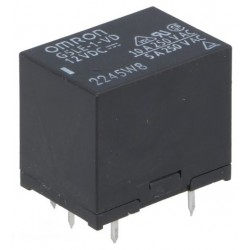 RELAIS ELECTROMAGNETIQUE SPDT Ude bobine:12VDC 10A/120VAC (6080)