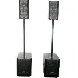 "SYSTEME ACTIF 2.2 2 x 10""/25cm 960W RMS BST"