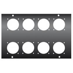 FACE AVANT DU KILT0250 POUR 8 EMBASES PC16 TYPE EMB/PCE-N