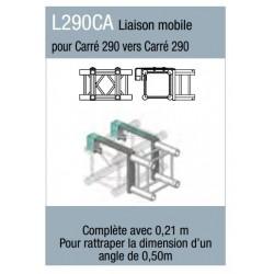 LIAISON MOBILE POUR STRUCTURE CARRE 290 VERS STRUCTURE CARRE 290 ASD