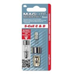 1 AMPOULE DE RECHANGE (XÉNON) POUR ML5/LCL5 MAGLITE