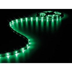 FLEXIBLE A LED VERT 150 LED TYPE 5050 5M 12VCC