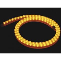 FLEXIBLE LED IP65 JAUNE 1 METRE - 12VCC 8W 0.67A