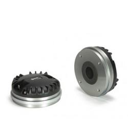 MOTEUR NEODYMIUM 35.5 mm MID-HIGH 16 OHMS 109 dB 500-20KHZ TITANIUM