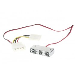 LED ROUGE 12VCC POUR TUNING PC