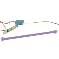BARRE 12 LED + ALIMENTATION 12VCC - LUMIERE UV