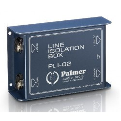 BOITIER D'ISOLATION LIGNE 2 CANAUX PALMER