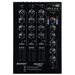 MIXAGE DJ 3 VOIES AVEC LECTEUR USB OMNITRONIC