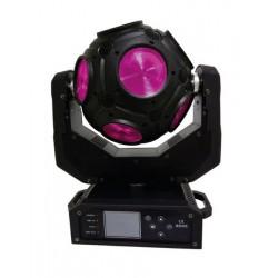 BOULE A LED POWER LIGHTING 12 LEDS X 20 W RGBW