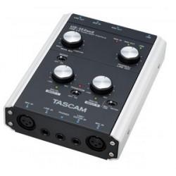 INTERFACE AUDIO/MIDI USB 2 CANAUX TASCAM