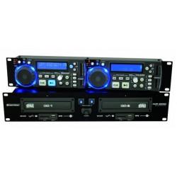 DOUBLE LECTEUR CD / MP3 / SD / USB OMNITRONIC