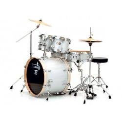 "BATTERIE ACCOUSTIQUE FUSION 20"" SILVER SPARKLE TAMBURO"