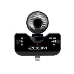 MICROPHONE STEREO MIDE-SIDE NOIR POUR IOS ZOOM