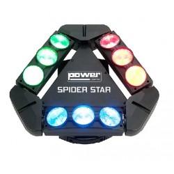 EFFET A LED RGBW 9X12W CREE POWER LIGHTING
